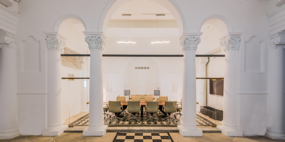Interior of our Malta branch office