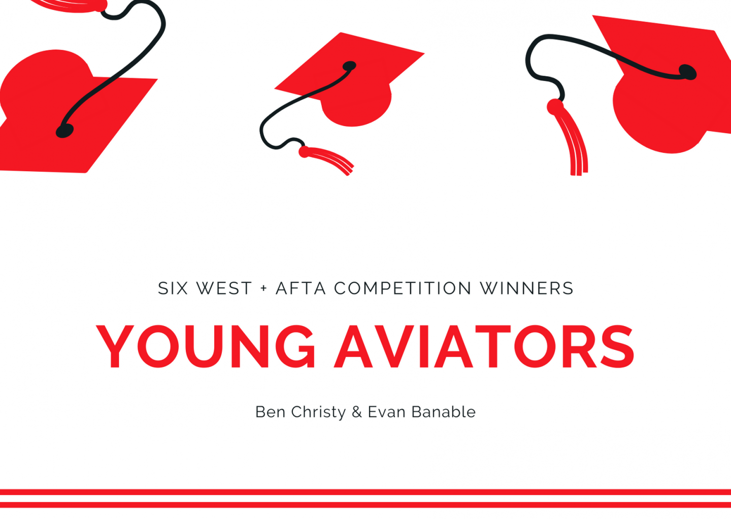 Six West AFTA Young Aviators Winning Entries