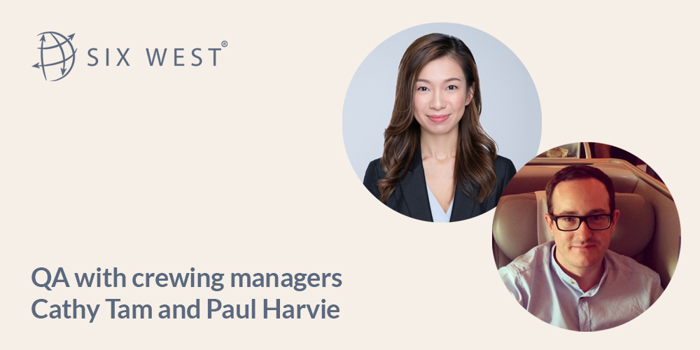 QA Cathy Tam and Paul Harvie