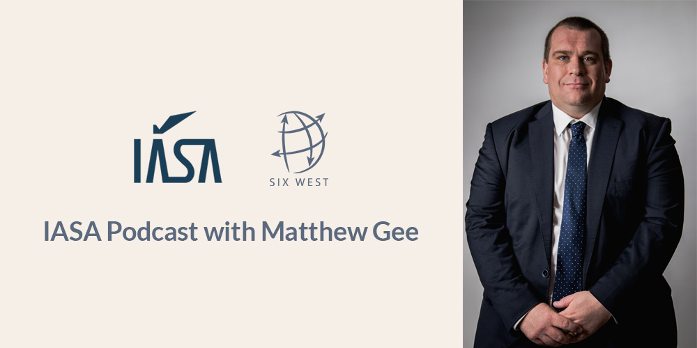 Podcast with IASA and Matthew Gee